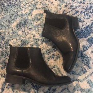 Nine West jara Black Chelsea boots sz 8M